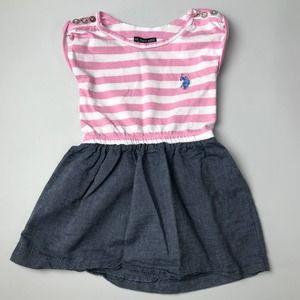 US POLO ASSN. Baby Girl Dress